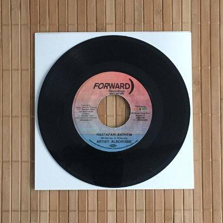 "7"" Alborosie - Rastafari Anthem / Instrumental"