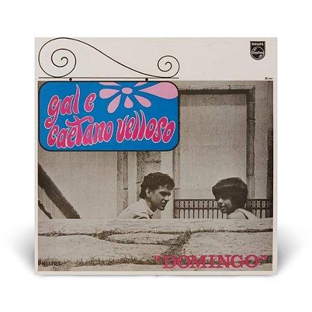 LP Gal Costa e Caetano Veloso - Domingo