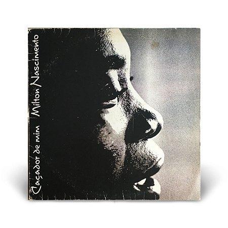 LP Milton Nascimento - Caçador de Mim (Com encarte)