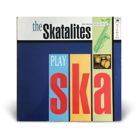 LP The Skatalites - Play Ska