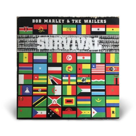 LP Bob Marley and the wailers - Survival