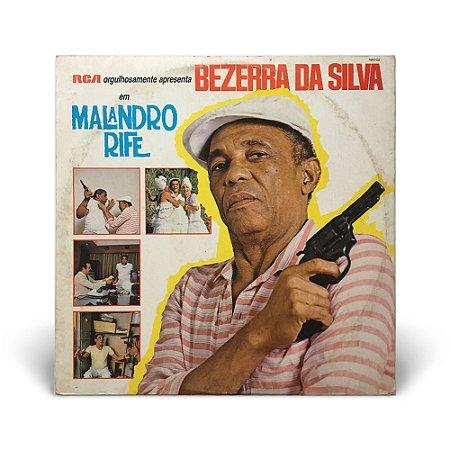 LP Bezerra da Silva - Malandro Rife (C/ Encarte)