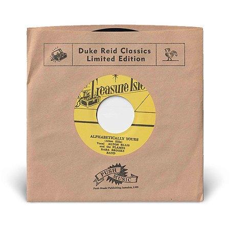 """7"""" Alton Ellis, Baba Brooks Band - Alphabetically Yours / Baba Brooks - Alcatraz"""