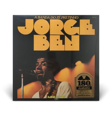 LP Jorge Ben - A banda do Zé Pretinho