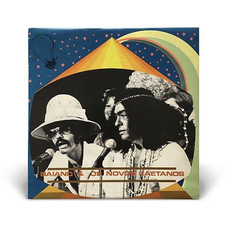 LP Baiano e Os Novos Caetanos Vol. 1 (Com Encarte/Poster)