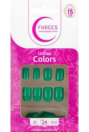 Unhas Fhaces Colors Acqua - 24 unhas