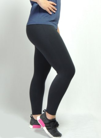Calça legging supplex alta compressão
