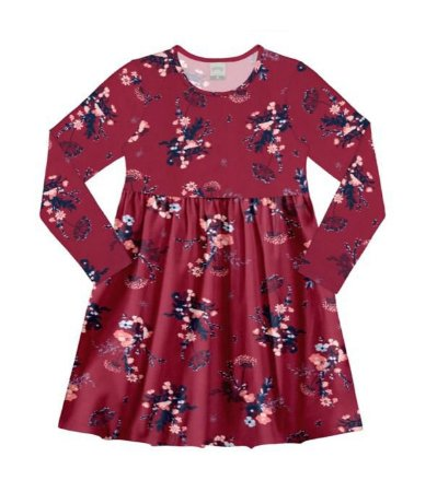 Vestido Meia Malha Penteada Vermelho