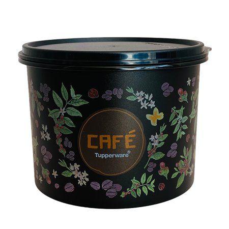 Tupperware Caixa de Café Floral 1,7 Litros