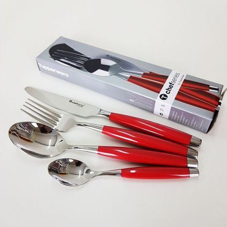 Tupperware Talheres Chef Series Kit 16 Pecas