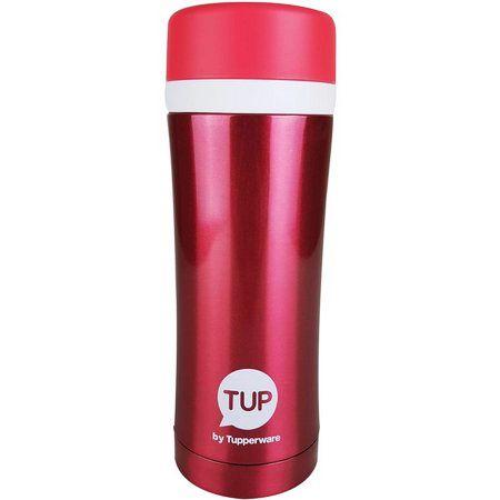 Tupperware Copo Térmico Vermelho 420ml Importado