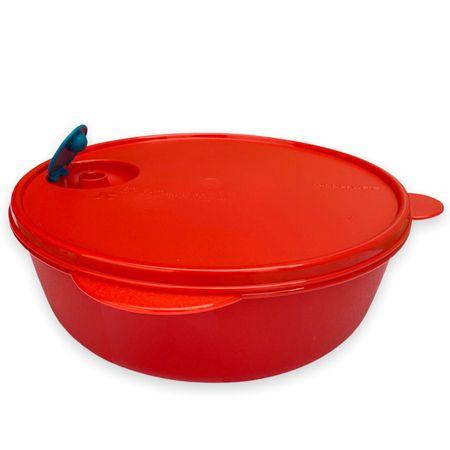 Tupperware Cristalwave Redondo 3 Litros Vermelho