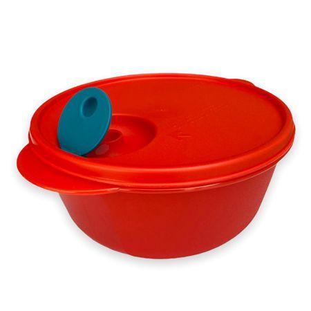 Tupperware Cristalwave Redondo 1,5 Litros Vermelho