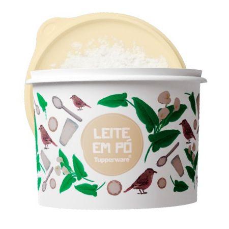 Tupperware Caixa de Leite em Pó Floral 1,2kg