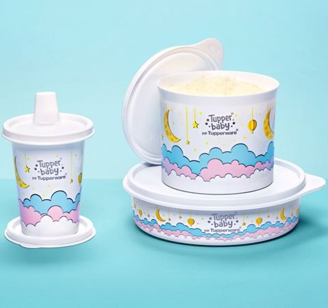 Tupperware Kit Tupper Baby 3 Pecas