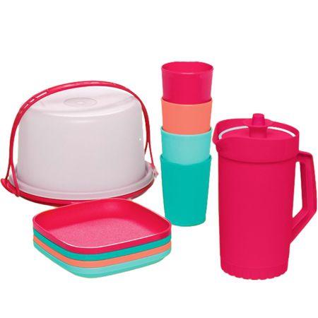 Tupperware Kit Miniaturas Colors 10 Pecas