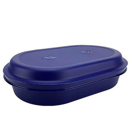Tupperware Travessa Actualité Oval Azul