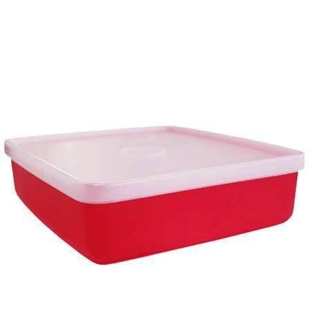 Tupperware Refri Box 400ml Vermelha