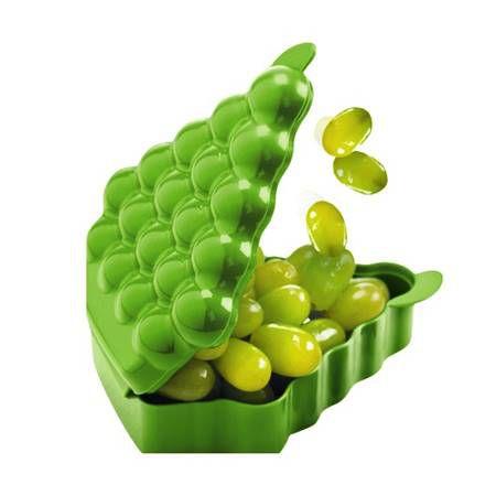 Tupperware Porta Fruta Uva Verde