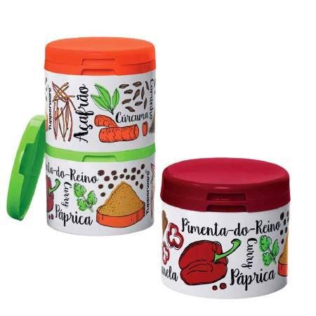 Tupperware Potinhos Porta Temperos 3 Pecas