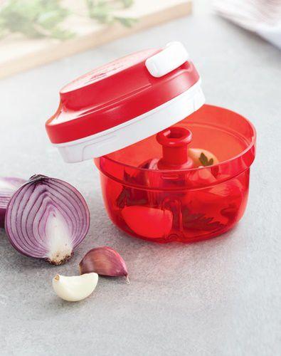Tupperware Turbo Chef 300ml Vermelho Policarbonato