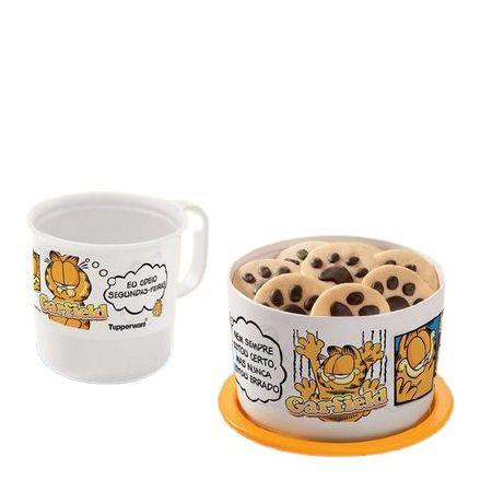 Tupperware Mini Instantânea Slim e Caneca Garfield