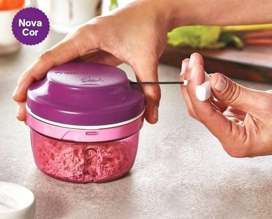 Tupperware Turbo Chef 300ml Lilás Policarbonato