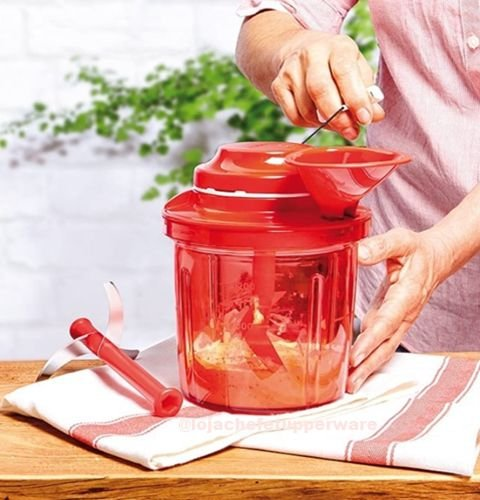 Tupperware Power Chef 1,35 Litros Importado Vermelho