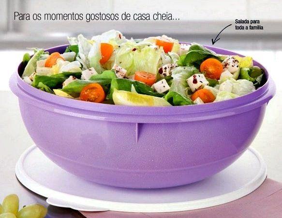 Tupperware Saladeira 6,5 Litros Lilás