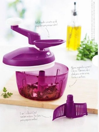 Tupperware Quick Chef 1,3 Litros Lilás