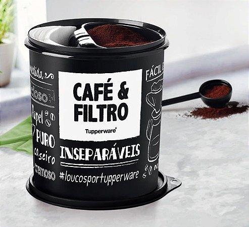 Tupperware Caixa Café e Filtro 3,7 Litros PB