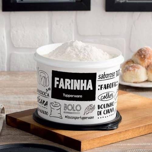 Tupperware Caixa de Farinha PB 2,4 Litros