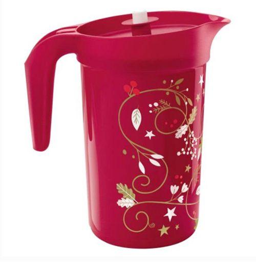 Tupperware Jarra Ilúmina 2 Litros Vermelha Natal