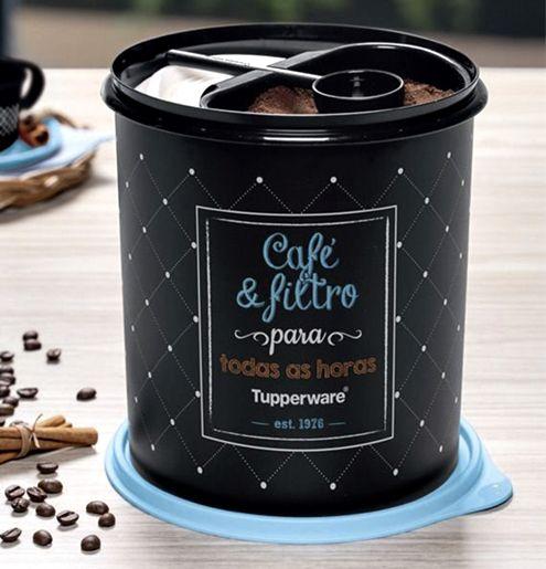 Tupperware Caixa Café e Filtro 3,7 Litros Bistrô