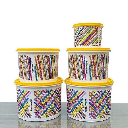 Tupperware Caixas Bahia Conjunto 5 Pecas