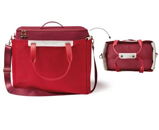 Tupperware Bolsa Picnic Premium Vermelha Importada