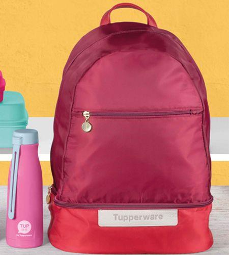 Tupperware Kit Mochila Premium e Garrafa Térmica 410ml