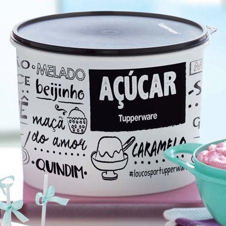 Tupperware Caixa Açúcar PB 5Kg