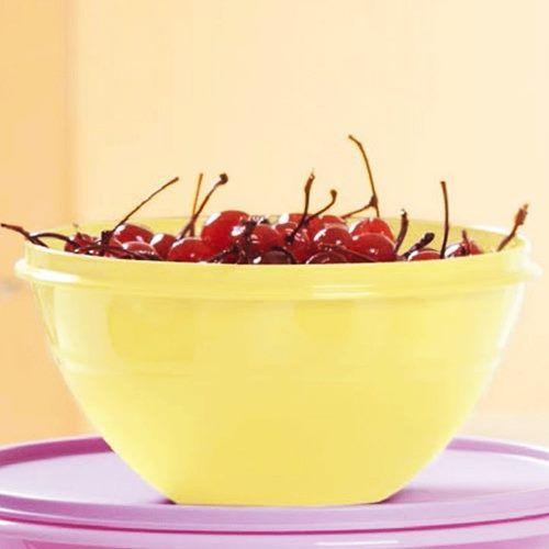 Tupperware Tigela Maravilhosa 1 Litro Amarela
