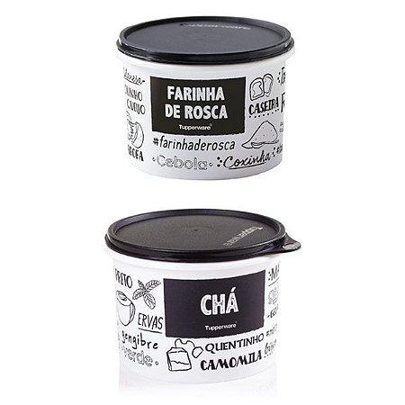 Tupperware Farinha de Rosca e Cha PB 2 Pecas