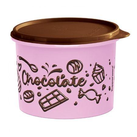 Tupperware Caixa Loucos Por Chocolate 1,7 Litros