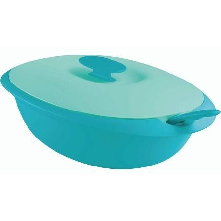 Tupperware Travessa Mágica 1,8 Litros Verde e Azul
