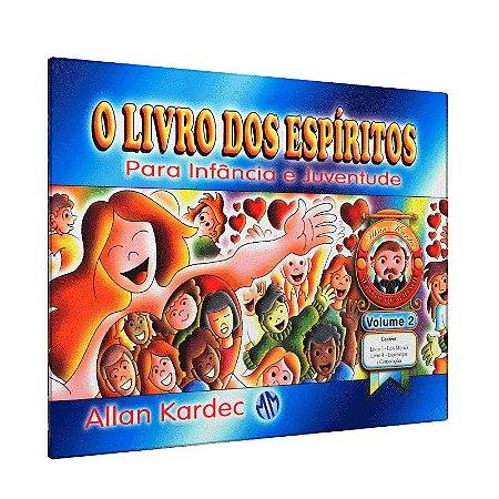 LIVRO DOS ESPÍRITOS PARA INFANC E JUV-VOL 2
