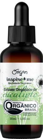 EXTRATO ORGANICO EUCALIPTO INSPIRIME 30ML