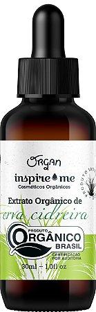 EXTRATO ORGANICO ERVA CIDREIRA INSPIRIME 30ML