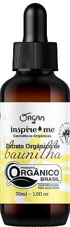EXTRATO ORGANICO BAUNILHA INSPIRIME 30ML