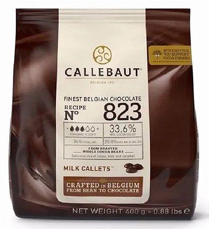 Gotas Chocolate Belga Ao Leite 400g 823 33,6% - Callebaut
