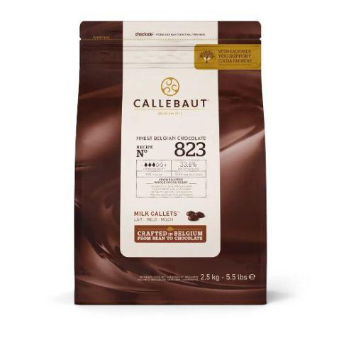 Gotas Chocolate Belga Ao Leite 2,1kg 823 33,6% - Callebaut