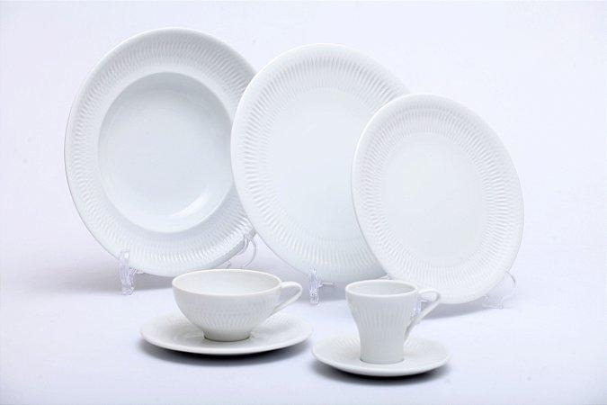 Aparelho de Jantar Utopia 30PÇS em Porcelana