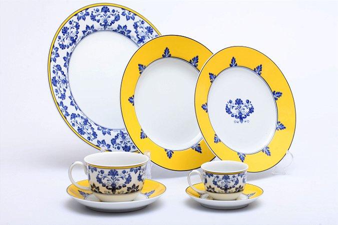 Aparelho de Jantar 30PÇS Castelo Branco em Porcelana